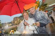 Tosca Premiere - Steinbruch St. Margarethen - Mi 08.07.2015 - Harald und Ingeborg Mausi SERAFIN76