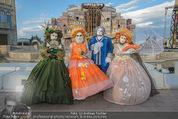 Eine Nacht in Venedig Premiere - Seebühne Mörbisch - Do 09.07.2015 - Masken1