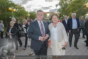 Eine Nacht in Venedig Premiere - Seebühne Mörbisch - Do 09.07.2015 - Hans NIESSL mit Ehefrau Christine15