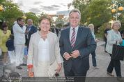 Eine Nacht in Venedig Premiere - Seebühne Mörbisch - Do 09.07.2015 - Hans NIESSL mit Ehefrau Christine16