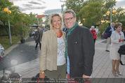 Eine Nacht in Venedig Premiere - Seebühne Mörbisch - Do 09.07.2015 - Herbert STEINB�CK mit Freundin Petra19