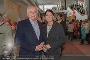 Eine Nacht in Venedig Premiere - Seebühne Mörbisch - Do 09.07.2015 - Rudolf HUNDSTORFER mit Ehefrau Karin20