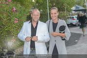 Eine Nacht in Venedig Premiere - Seebühne Mörbisch - Do 09.07.2015 - Stefan KOUBEK mit Freundin Katja29