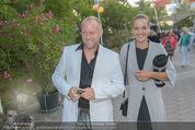Eine Nacht in Venedig Premiere - Seebühne Mörbisch - Do 09.07.2015 - Stefan KOUBEK mit Freundin Katja31