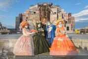 Eine Nacht in Venedig Premiere - Seebühne Mörbisch - Do 09.07.2015 - Dagmar SCHELLENBERGER mit venezianischen Masken5