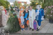 Eine Nacht in Venedig Premiere - Seebühne Mörbisch - Do 09.07.2015 - Richard und Cathy LUGNER mit Tochter Leonie54