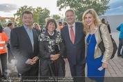 Eine Nacht in Venedig Premiere - Seebühne Mörbisch - Do 09.07.2015 - Andr� und Christine RUPPRECHTER, Stefan u. Agnes OTTRUBAY63