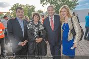 Eine Nacht in Venedig Premiere - Seebühne Mörbisch - Do 09.07.2015 - Andr� und Christine RUPPRECHTER, Stefan u. Agnes OTTRUBAY64