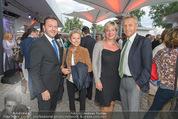 Eine Nacht in Venedig Premiere - Seebühne Mörbisch - Do 09.07.2015 - Nikolaus BERLAKOVIC mit Ehefrau Ursula, Reinhold LOPATKA72