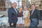 Eine Nacht in Venedig Premiere - Seebühne Mörbisch - Do 09.07.2015 - Norbert DARABOS, Edi FINGER, Erika SUESS mit Tochter Katarina88