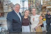 Eine Nacht in Venedig Premiere - Seebühne Mörbisch - Do 09.07.2015 - Edi FINGER, Erika SUESS mit Tochter Katarina90