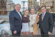 Eine Nacht in Venedig Premiere - Seebühne Mörbisch - Do 09.07.2015 - Norbert DARABOS, Edi FINGER, Erika SUESS mit Tochter Katarina91