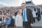 Eine Nacht in Venedig Premiere - Seebühne Mörbisch - Do 09.07.2015 - Kristina SPRENGER mit Ehemann Gerald GERSTBAUER93