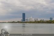 Gourmet Schifffahrt - MS Kaiserin Elisabeth - Di 14.07.2015 - Donau Skyline Vienna DC Tower UNO City Donauturm Schiffe1