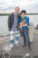 Gourmet Schifffahrt - MS Kaiserin Elisabeth - Di 14.07.2015 - Andy LEE LANG, Nhut LA HONG mit Hund Nes16