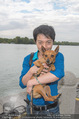 Gourmet Schifffahrt - MS Kaiserin Elisabeth - Di 14.07.2015 - Nhut LA HONG mit Hund Nes19