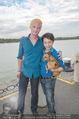 Gourmet Schifffahrt - MS Kaiserin Elisabeth - Di 14.07.2015 - Nhut LA HONG mit Hund Nes und Begleiter Patrick21