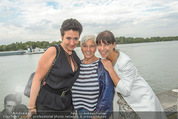 Gourmet Schifffahrt - MS Kaiserin Elisabeth - Di 14.07.2015 - Andrea H�NDLER, Jazz GITTI, Claudia KRISTOVIC-BINDER29