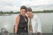 Gourmet Schifffahrt - MS Kaiserin Elisabeth - Di 14.07.2015 - Andrea H�NDLER, Claudia KRISTOVIC-BINDER30