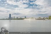 Gourmet Schifffahrt - MS Kaiserin Elisabeth - Di 14.07.2015 - Donau Skyline Vienna DC Tower UNO City Donauturm Schiffe35