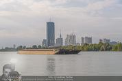 Gourmet Schifffahrt - MS Kaiserin Elisabeth - Di 14.07.2015 - Donau Skyline Vienna DC Tower UNO City Donauturm Schiffe52
