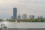 Gourmet Schifffahrt - MS Kaiserin Elisabeth - Di 14.07.2015 - Donau Skyline Vienna DC Tower UNO City Donauturm Schiffe54