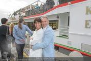 Gourmet Schifffahrt - MS Kaiserin Elisabeth - Di 14.07.2015 - Claudia KRISTOVIC-BINDER mit Martin66