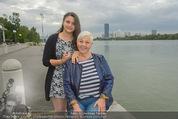 Gourmet Schifffahrt - MS Kaiserin Elisabeth - Di 14.07.2015 - Jazz GITTI mit Enkelin9