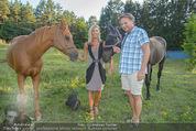 Yvonne Rueff Polterer und Grillfest - Hanner - Mi 15.07.2015 - Heinz HANNER, Verena PFL�GER mit Pferden26