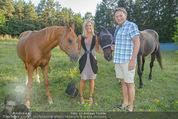 Yvonne Rueff Polterer und Grillfest - Hanner - Mi 15.07.2015 - Heinz HANNER, Verena PFL�GER mit Pferden27