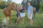 Yvonne Rueff Polterer und Grillfest - Hanner - Mi 15.07.2015 - Heinz HANNER, Verena PFL�GER, Yvonne RUEFF Pferde30