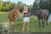 Yvonne Rueff Polterer und Grillfest - Hanner - Mi 15.07.2015 - Yvonne RUEFF mit Pferden31