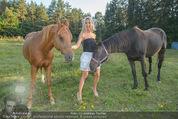 Yvonne Rueff Polterer und Grillfest - Hanner - Mi 15.07.2015 - Yvonne RUEFF mit Pferden34