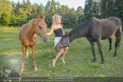 Yvonne Rueff Polterer und Grillfest - Hanner - Mi 15.07.2015 - Yvonne RUEFF mit Pferden37