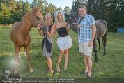 Yvonne Rueff Polterer und Grillfest - Hanner - Mi 15.07.2015 - Heinz HANNER, Verena PFL�GER, Yvonne RUEFF mit Pferden38