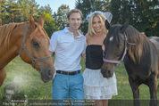 Yvonne Rueff Polterer und Grillfest - Hanner - Mi 15.07.2015 - Yvonne RUEFF mit Robert, Pferde43