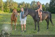 Yvonne Rueff Polterer und Grillfest - Hanner - Mi 15.07.2015 - Heinz HANNER, Verena PFL�GER mit Pferden44