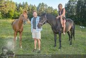 Yvonne Rueff Polterer und Grillfest - Hanner - Mi 15.07.2015 - Heinz HANNER, Verena PFL�GER mit Pferden45