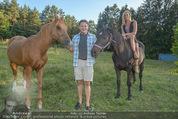 Yvonne Rueff Polterer und Grillfest - Hanner - Mi 15.07.2015 - Heinz HANNER, Verena PFL�GER mit Pferden47