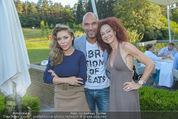 Yvonne Rueff Polterer und Grillfest - Hanner - Mi 15.07.2015 - Cyril RADLHER, Christina LUGNER, Isabella ABEL (Meus)60