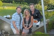 Yvonne Rueff Polterer und Grillfest - Hanner - Mi 15.07.2015 - Heinz HANNER, Verena PFL�GER, Uwe KR�GER65