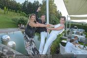 Yvonne Rueff Polterer und Grillfest - Hanner - Mi 15.07.2015 - Sissi KNABL, Uwe KR�GER, Andrea BOCAN77