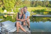 Yvonne Rueff Polterer und Grillfest - Hanner - Mi 15.07.2015 - Heinz HANNER, Verena PFL�GER9