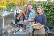 Yvonne Rueff Polterer und Grillfest - Hanner - Mi 15.07.2015 - Heinz HANNER, Verena PFL�GER, Isabella ABEL (Meus)91