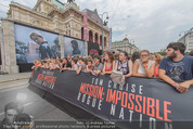 Mission:Impossible Weltpremiere - Wiener Staatsoper - Do 23.07.2015 - Fanzone am Ring vor der Oper10