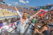 Beachvolleyball FR - Klagenfurt - Fr 31.07.2015 - Silvia SCHNEIDER1