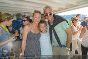 Beachvolleyball FR - Klagenfurt - Fr 31.07.2015 - Michael und Tina KONSEL mit Sohn Valentin56