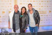 Beachvolleyball Macht der Nacht - Klagenfurt - Sa 01.08.2015 - Familie Otto und Shirley RETZER mit Sohn1