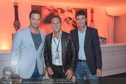 Beachvolleyball Macht der Nacht - Klagenfurt - Sa 01.08.2015 - Heinz-Christian HC STRACHE, Karl BARON, Johann GUDENUS52