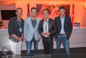 Beachvolleyball Macht der Nacht - Klagenfurt - Sa 01.08.2015 - Heinz-Christian HC STRACHE, Karl BARON, Johann GUDENUS53